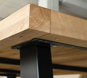 oak tabletop15 Holztischplatten