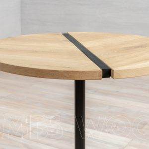 round coffee table with drawers