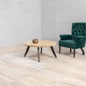 round coffee table white