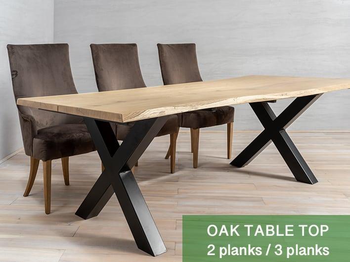Eiche Tischplatten 2/3 Bretter