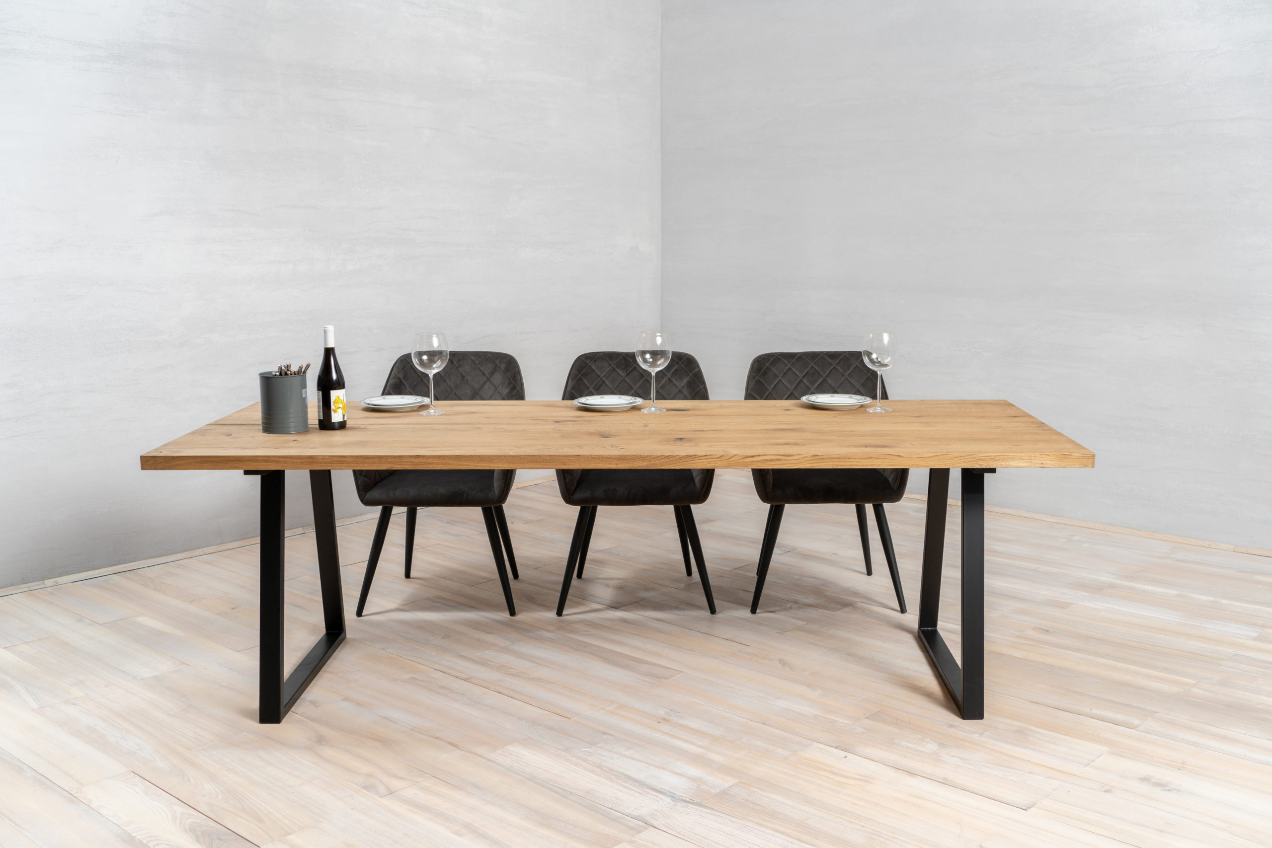 Oak Tabletop Dining Table